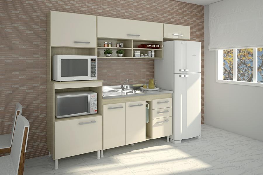 Cocina Compacta Crema Natural Cocinas Divino