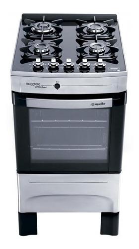 cocina eldom bremen 4h vetro inox - laser tv