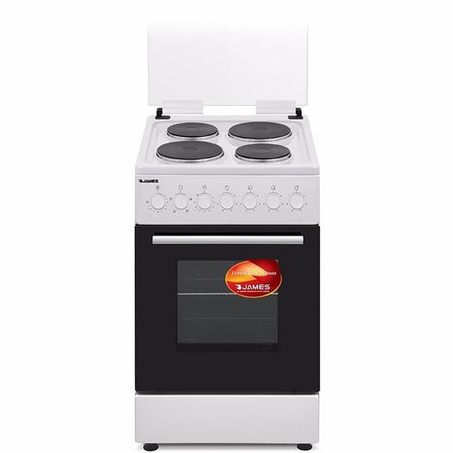 cocina electrica james 4 discos blanca c801 ff