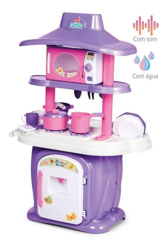 cocina infantil le grand chef con agua y sonido - calesita