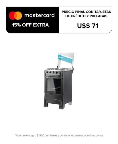 cocina tem mastercook 4 hornallas super gas oferta loi