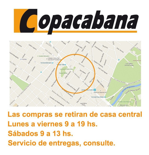 cocina tem supergas/ gas isabella 6 hornallas copacabana