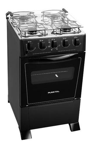 cocinas cocina a gas punktal pk-375c monte carlo negro fama