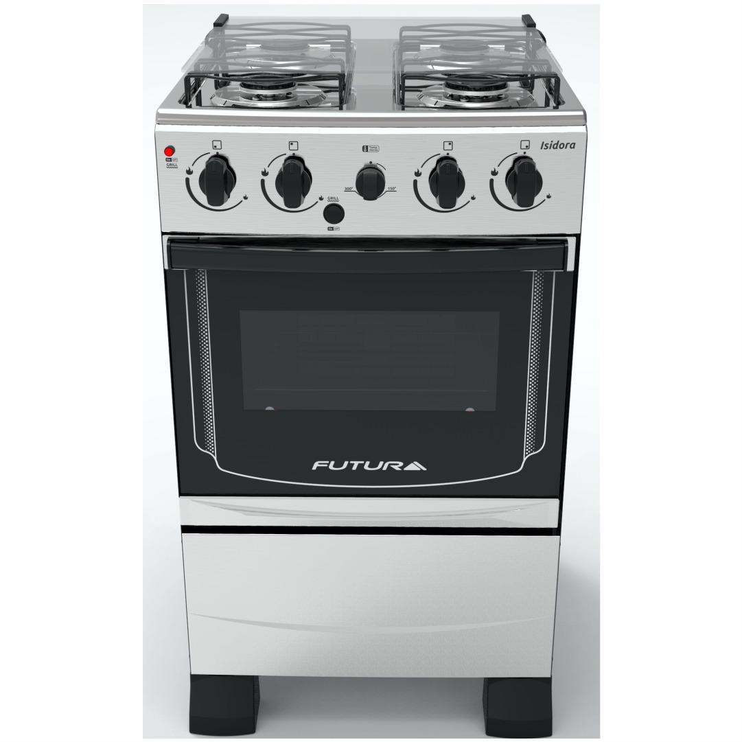 Cocinas Combinadas Futura Isidora 4 Gas Horno Electrico Ebz U S