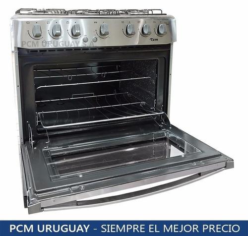 cocinas gas 6 hornallas tem avanti inox gran horno enc pcm