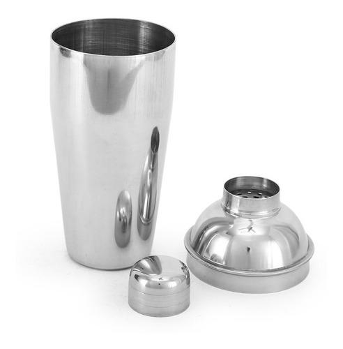 coctelera shaker acero inoxidable 500 ml campoamor deco
