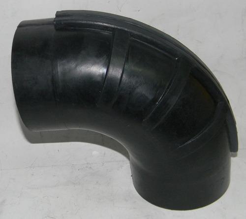 codo de hule de 90° 4  x 4  para flujo de aire - pm0