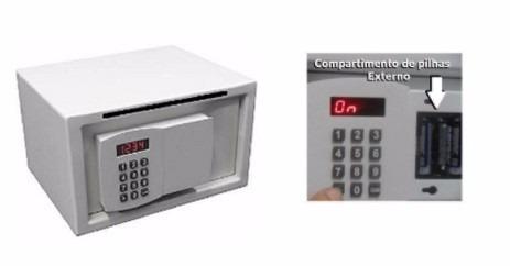 cofre eletrônico digital office c/boca de lobo alp 24x41x26