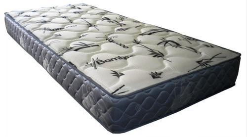 colchón de 1 plaza 17cm de altura + capitoneado