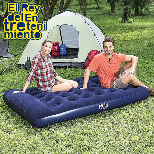 colchón inflable camping