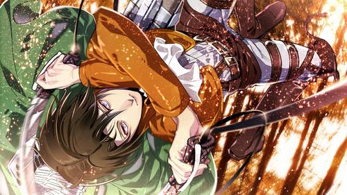 colección anime - attack on titan - 3 posters