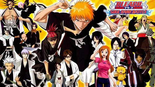 colección anime - bleach - 5 posters
