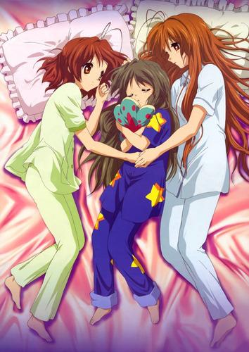 colección anime - clannad - 3 posters