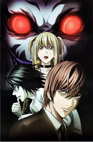 colección anime - death note - 3 posters