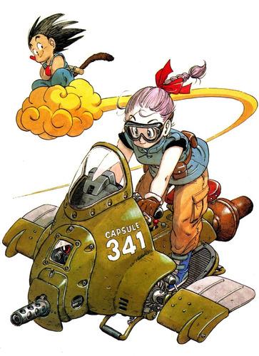 colección anime - dragon ball - 3 posters