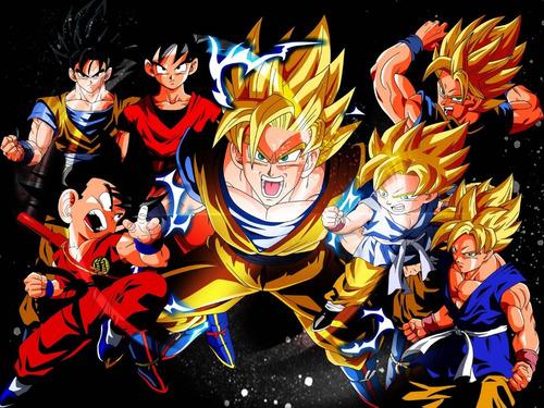 colección anime - dragon ball z - 5 posters