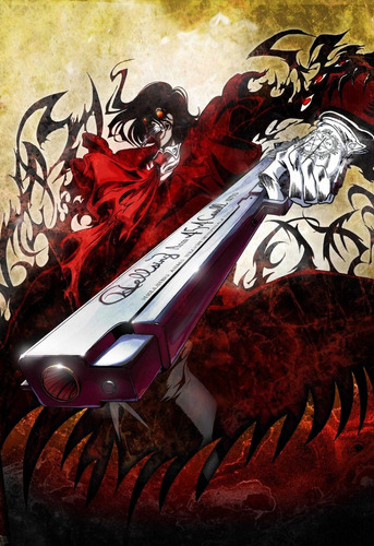 colección anime - hellsing - 5 posters