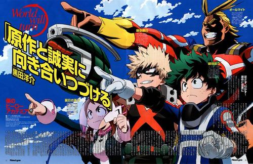 colección anime - my hero academia - 3 posters