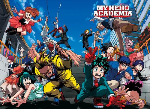 colección anime - my hero academia - 5 posters