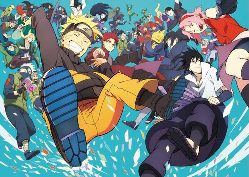 colección anime - naruto - 3 posters