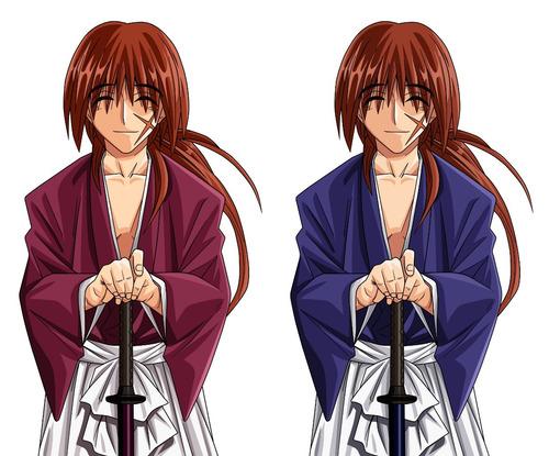 colección anime - rurouni kenshin (samurai x) - 10 posters