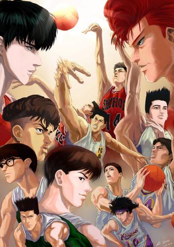 colección anime - slam dunk - 30 posters