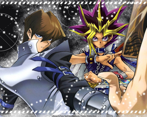 colección anime - yu-gi-oh - 5 posters
