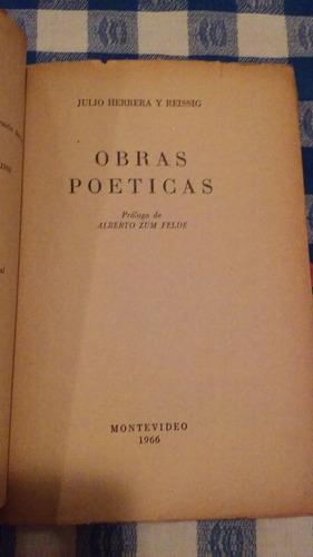 colección de clásicos uruguayos - julio herrera y reissig