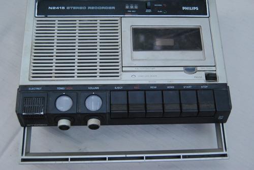 colección grabadora philips 2415 antigua vintage decoracion