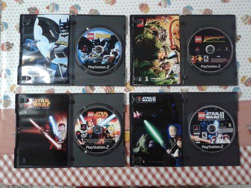 coleção lego - patchs para ps2 - completos