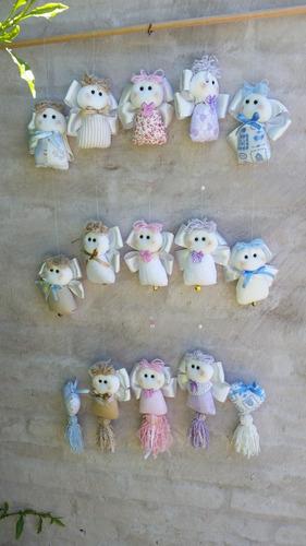 colgante angelitos, decoración, dormitorio bebé