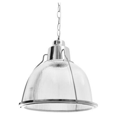 colgante techo 1 lampara policarbonato cromo mobelstore