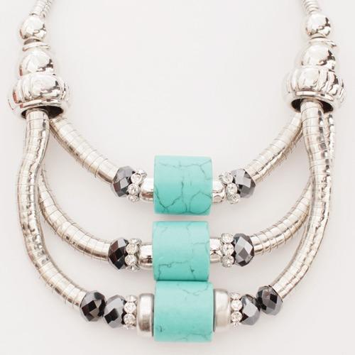 917b8186817b Collar Colgante Con Piedras Para Mujer Bijouterie Accesorios -   599 ...