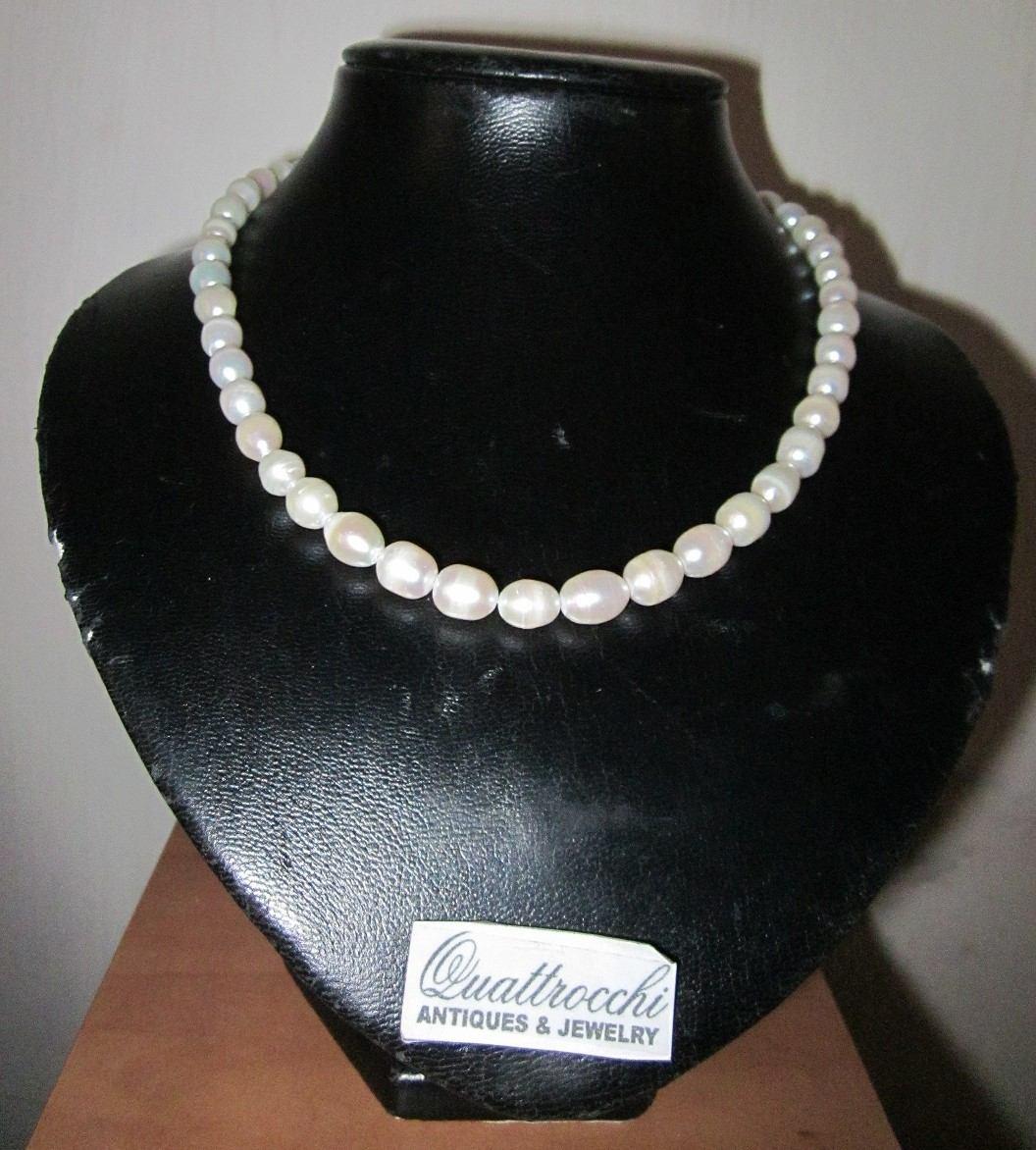 7d6ae615132c collar de perlas naturales de excelente calidad. Cargando zoom.