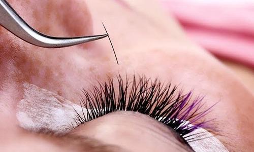 colocacion de pestanas pelo a pelo