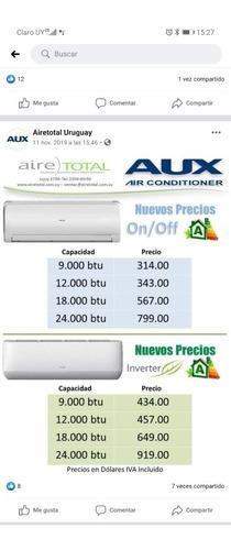 colocacion y venta de aire acondicionado