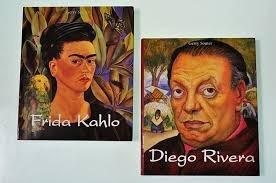 combo de 2 libros gdes frida y diego obras pictoricas remate