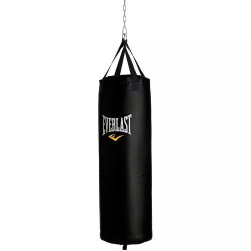 combo everlast bolsa de boxeo + guantes + protector bucal