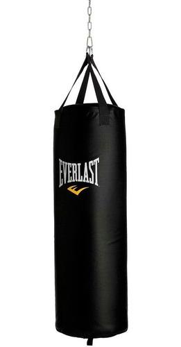 combo everlast bolsa de boxeo + guantilla + gancho mvdsport