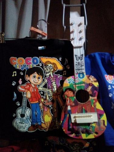 combo guitarra y playerita de  coco