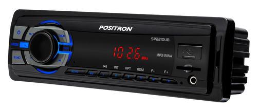 combo radio auto pósitron sp2210ub+parlantes 5' philips #oca