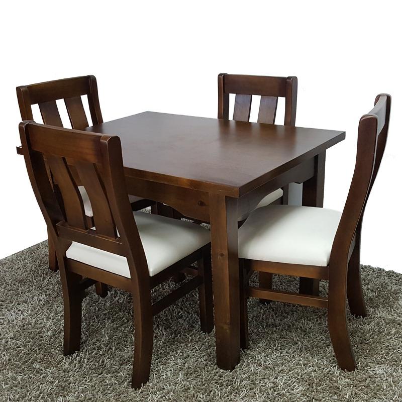 comedor con 4 sillas moderno minimalista 100 madera gh