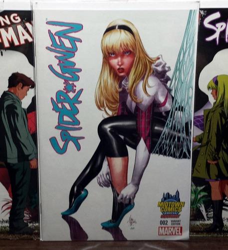 comic the superior spiderman #18 variante de jones
