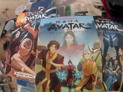 comics leyend de aang las 2 primeras temporadas completas