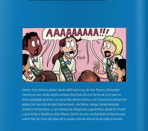 cómics una historia global, desde 1968 hasta hoy | nuevo!
