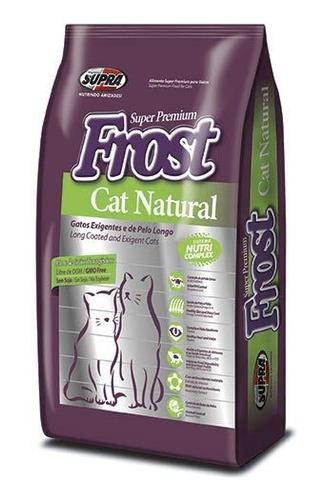 comida alimento gatos adultos frost cat natural 1kg