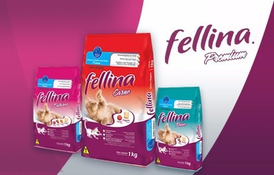 comida gatos fellina premium 10,1 kg. con regalo a eleccion