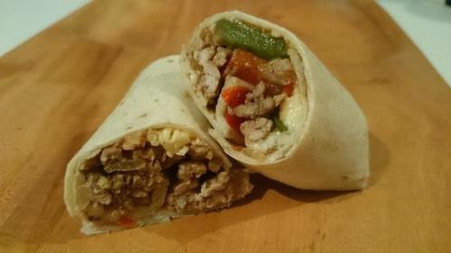 comida mexicana. tacos y quesadillas orale
