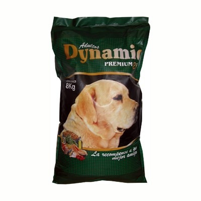 comida para perros, dynamic 8 kgs