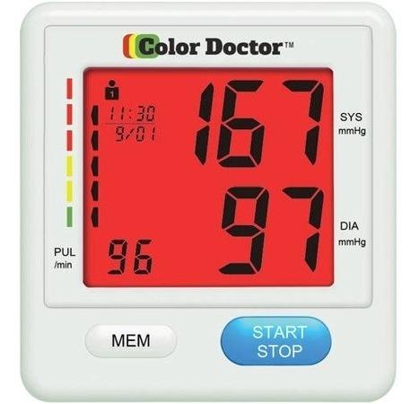 Como Se Ve En Tv Monitor De Presión Arterial Por El Médic..